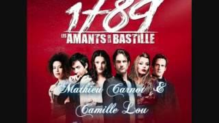 le temps s'en va (Camille Lou & Mathieu Carnot 1789 les amants de la bastille )