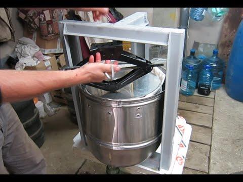 Как сделать пресс из стиральной машины