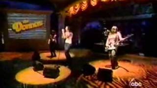 The Donnas - Too Bad About Your Girl (Live on The View & Interview)