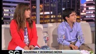 Agustina y Rodrigo Noya, hermanos y compinches - Susana Gimenez 2007