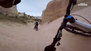 Downhill Mountain Bike POV Speed Runs | People Are Awesome
