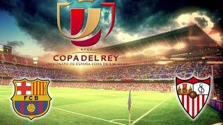 أهداف مباراة برشلونة ضد إشبيلية ( 2-0 ) نهائي كأس ملك إسبانيا 2015/2016 تعليق سعيد الكعبي [HD]
