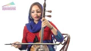 Persian Kamancheh, Solo by Negar Kharkan @Rhythmitica   آموزش کمانچه ریتمیتیکا