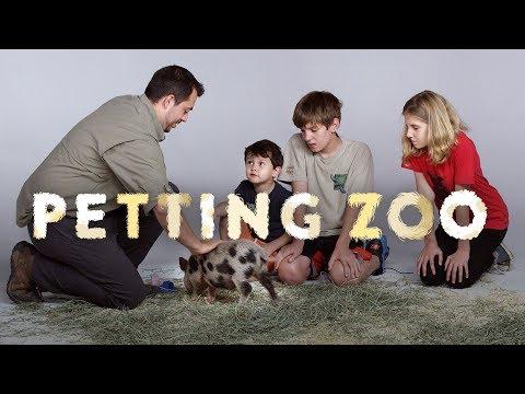 HiHo Petting Zoo Kids Meet a Juliana Pig a Mara and a Wallaby Kids Meet HiHo Kids