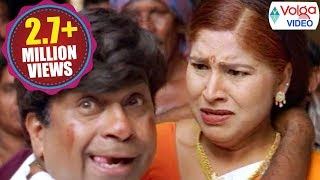 Brahmanandam And Kovai Sarala Comedy Scenes | Volga Videos