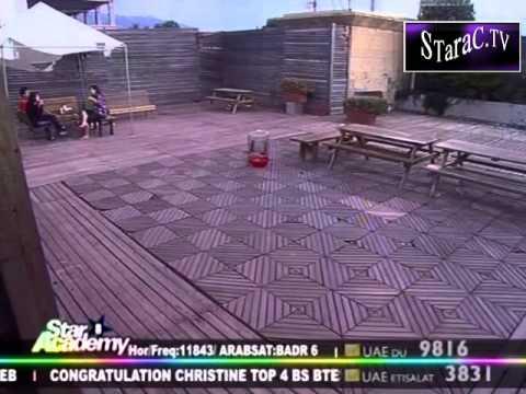 Star Academy 8.جلسة مع سارة ونسمة واحمد علسطح