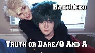 BakuDeku Cosplay T.O.D/Q&A - My Hero Academia