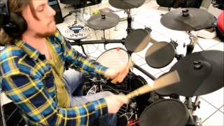The Ghost Inside Mercy E-drum cover
