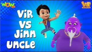 VIR vs Jinn Uncle - Vir: The Robot Boy WITH ENGLISH, SPANISH & FRENCH SUBTITLES
