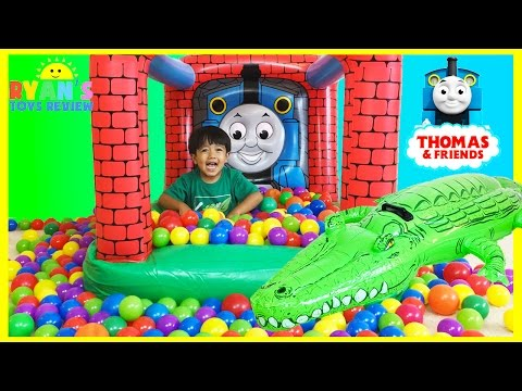 Xxx Mp4 Thomas And Friends GIANT BALL PITS With Egg Surprise Toys 3gp Sex