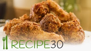 Wow! Better than KFC, moist and crispy fried chicken  - By RECIPE30.com