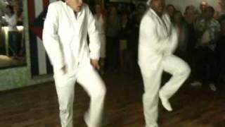 Reynaldo Salazar y Vincent Mojito Bar Lindau
