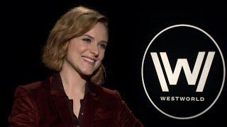 'Westworld' Season 2: Evan Rachel Wood (FULL INTERVIEW)