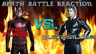 MonkeeMan Is Back!!! And Reacts to The Flash Vs  Quicksilver Death Battle!!!