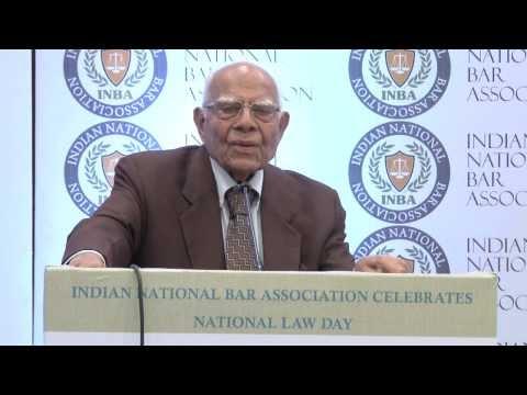 Shri Ram Jethmalani, Sr. Lawyer, Chief Patron, Indian National Bar Association