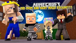 DID MOM AND BABY HUGO ESCAPE THE EVIL ORPHANAGE???- Baby Leah Minecraft Adventures!