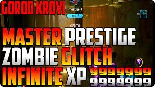 BO3 ZOMBIE GLITCHES; MASTER PRESTIGE UNLIMITED XP ZOMBIE GLITCH -GOROD KROVI GLITCHES