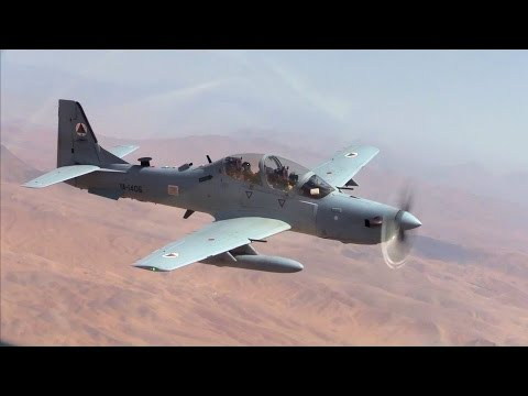 Flying A-29s In Afghanistan