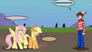 [MLP Comic Dub] DERP-Rolled (comedy crossover - Where