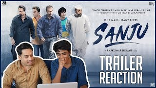Sanju Official Trailer Reaction | Ranbir Kapoor | Sanjay Dutt | Sanju Biopic