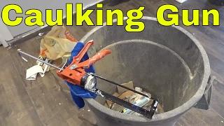 2 USEFUL Things Your Caulking Gun Can Do