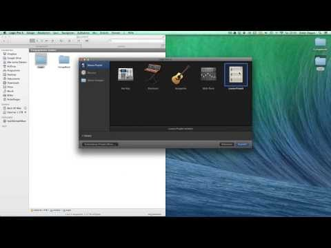 Download Logic Pro X Content directly to external Drive