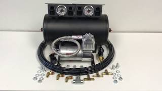4 Valve Air Management Kit from Airkewld - Manual