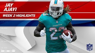 Jay Ajayi Tears Through LA for 122 Rushing Yards!   Dolphins vs. Chargers   Wk 2 Player Highlights