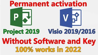 How to Activate Microsoft Visio 2016 without any Software and Cracks