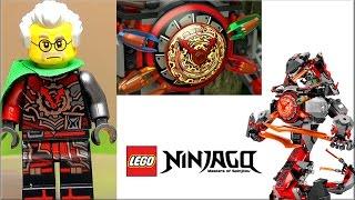 LEGO® NINJAGO™ 70626 Железные удары судьбы Обзор + все клинки времени