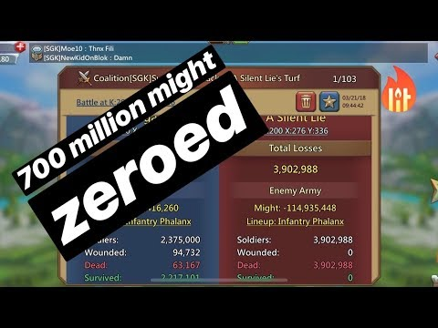 Xxx Mp4 700 Million Might And 3 More Players ZEROED Lords Mobile 3gp Sex