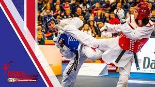 Manchester 2018 World Taekwondo GP [Female +67Kg FINAL] WALKDEN, BIANCA(GBR) vs ZHENG, SHUYIN(CHN)