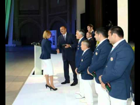 Xxx Mp4 Ilham Aliyev Meets Athletes Who Participated In London Olympics 3gp Sex