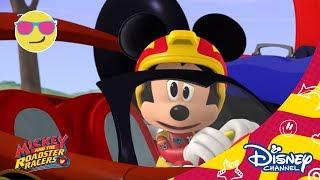 Мики и приятели състезатели - Мики Маус. Само по Дисни Чанъл!