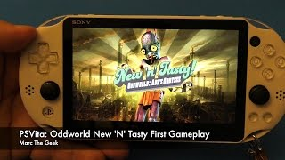 PSVita Oddworld: New 'n' Tasty! First Gameplay (Video 1)
