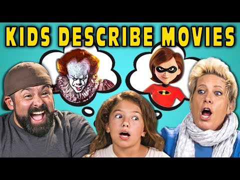 Can Parents Guess Movies Described By Kids 4 React