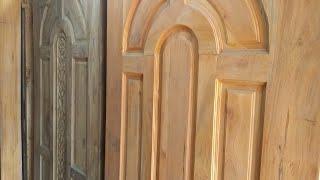 বিভিন্ন ডিজাইনের কাঠের দরজার দাম//Wooden Door Price in Bangladesh