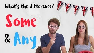 Diferencia entre SOME and ANY en inglés