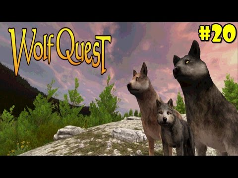 WolfQuest Multiplayer -update-  Android/iOS/Kindle - Gameplay Episode 20