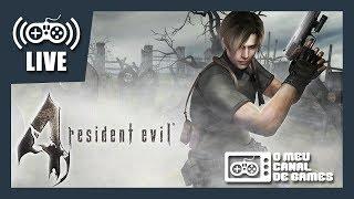 [Live] Resident Evil 4 (PS4) - PROFISSIONAL Até Zerar AO VIVO #1