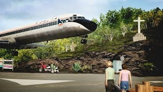 BIG AIRPLANES small runway [TFFJ] XPLANE 11