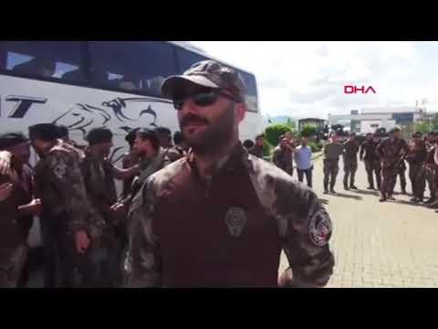 Afrin'deki PÖH'ler birliklerine döndü !