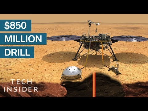 Why NASA Is Sending An 850 Million Hammer To Mars