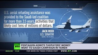 Oops! US taxpayers paid for refueling of Saudi jets bombing Yemen due to
