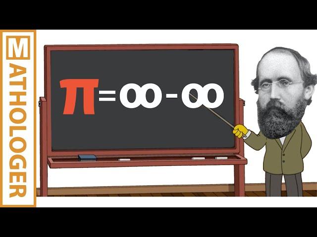 Riemanns Paradoxon: pi = unendlich minus unendlich