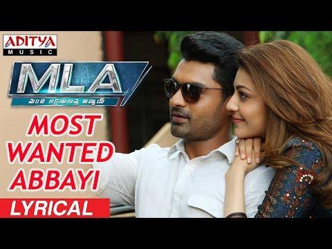 Xxx Mp4 Most Wanted Abbayi Lyrical MLA Movie Songs Nandamuri Kalyanram Kajal Aggarwal Mani Sharma 3gp Sex