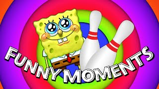 SPONGEBOB & BOWLING PINS ★ Funny Videos & Moments #9 (YouAlwaysWin)