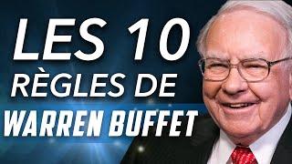 LES 10 CONSEILS DE WARREN BUFFET POUR RÉUSSIR