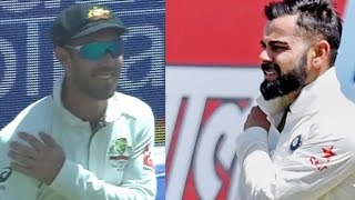 India vs Australia 3rd Test 2017 : Glenn Maxwell Makes Fun Of Virat Kohli - HUNGAMA