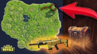 BEST Chest/Loot Run (9+ CHESTS) Fortnite Battle Royale! Spawn Locations